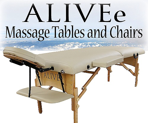 eco ii deluxe portable massage table package cream light