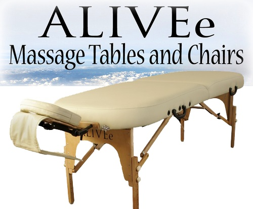 Pro Round II Deluxe Portable Massage Table Package Cream Light - Click Image to Close