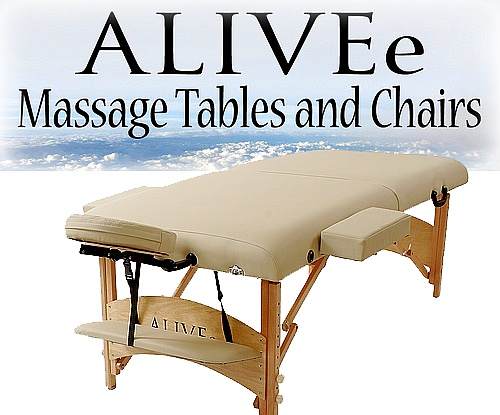 pro wide ii deluxe portable massage table package cream light
