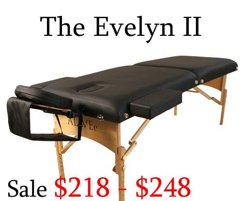 evelyn ii massage tables