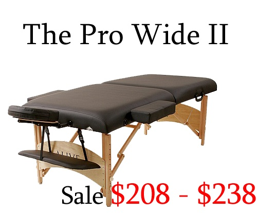 pro wide ii massage tables - Massage Tables For Sale